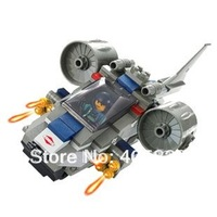 Strike aircraft  M38-B0196 Assault vehicle 3D lego type Building Block Set, Enlighten Brick Toy, Christmas Gift