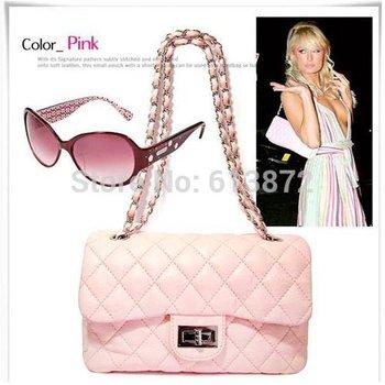2015 Casual  Designer Handbag Clutch Ladies Shoulder Bag Bags Quilting Chain Cross Drop Shipping Wholesale