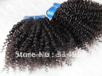 "10""-30""Top quality best selling products human hair extension #1B color"