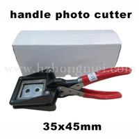 Manual Photo paper Cutter 35*45mm round corner