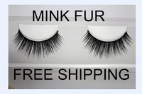100% real Strip Mink lashes False Individual Eyelashes with box  free shipping fake Eyelash extensions Handmade Makeup tools 003