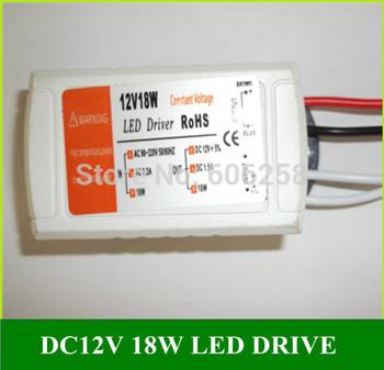 10pcs AC110V-240V DC 12V 1.5A Led Light  Transformer LED Constant Voltage Power Supply Adapter 18W