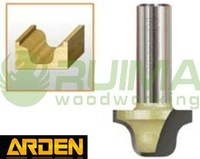 Arden Drill  0806M Double  Ogee W/O Bearing 1/2*7/8  Tungsten Carbide Bit