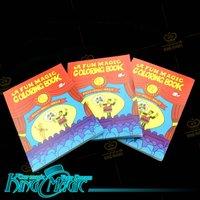 FREE SHIPPING-Magic Coloring Book- Pocket Size-king Magic wholesale