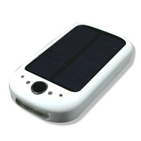 solar AA/AAA battery charger +LED Flashlight+cellular phone charge multifunction  power bank