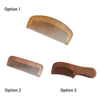 3 pcs sandwood combs for hair comb,wood combs, sandwood natural health care hair care products brush