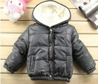 New 2012 Free shipping wholesales kids clothes boy coat cotton thick padded baby winter jacket(4PCS/lot)polo children clothing