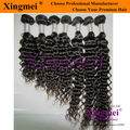 Free Shipping Hastar hair: remy deep wave brazilian virgin hair extensions,3.5oz/pc,10pcs/lot