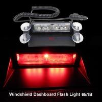 18W LED Strobe Lights With Suction Cups & Fireman Flashing Emergency Warning Car Light 3 Flashing Mode Free Shipping