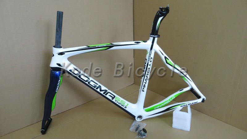 2013 Pinarello Dogma 65.1 Think2 fit di2 full carbon fiber road bike frame 49/52/54/58/60cm free shipping