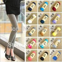 New 2014 Spring Summer Leggings For Women Cheap Promotion 13 Candy Color Pants/Capris Fashion Cotton Modal Elastic Leggings