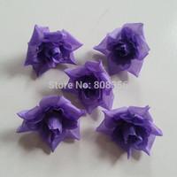 200p Fashion 3.5cm-4.5cm Artificial Simulation Silk Camellia Rose Flower Heads