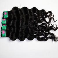 brazilian hair weave mixed lengths brazilian hair extensions AAAA deep wave weave 100 human remy virgin hair weft 4pcs lot
