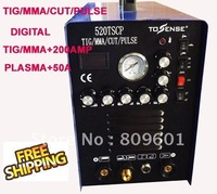 Free Accessories Free Shipping TIG/MMA PULSE Aluminium accepted Welding Machine 520tscp