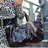 FLYING BIRDS Hot Fashion Crocodile Shoulder Bag Commuter Women Tote messenger bags leather Handbag HC666