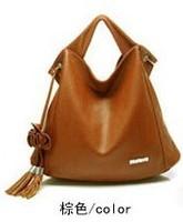 2013 spring flower tassel bag women's handbag work bag women's handbag