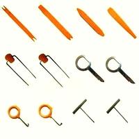 12 pcs /set Car Door Plastic Trim Panel Dash Installation Removal Pry Stereo Refit Tool Kit Free Shipping
