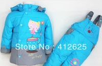 Promotion baby children warm down jacket suits 3 size Freeshipping