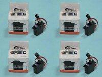 4x Corona DS-929MG Metal Gear Digital RC Mini Servo SS882 TREX 450 V2 SPORT PRO