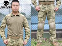Emerson Gen2 Combat Suit n Pants  A-TACS/FG COAT+PANTS free shipping