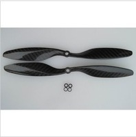free shipping 10 x4.5 1045 carbon fiber positive and negative propeller carbon fiber product Aircraft accessories