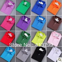 Classic *Polo Style* Men's Women's Lycra Cotton Fashion Shirt Shirts Tshirt T-shirt All Color In stock