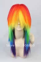 My Little Pony Rainbow Dash  Cosplay costume wig - Friendship is Magic  anime party wig free shipping