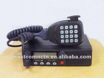 CE FCC Hotselling VHF Mobile Radio+Free shipping+DTMF Mic Speaker