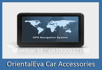 NEW 5 inch Hand-held Universal GPS Navigator Free Map Windows CE 6.0 Dual-core 800MHZ FM 8GB DDR256M Free Shipping