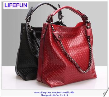 LIFEFUN 2014 new women ladies GENUINE REAL LEATHER tote bag Shoulder bag brand designer bag handbag messenger bag LF06445