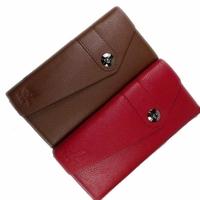 Long design wallet Men Women fashion belt card case cowhide wallet coin purse
