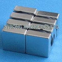 Free Shipping! NdFeB magnets Super Strong N35,Block  25mmX25mmX10mm, 20pcs/lot, Permanent