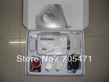wireless GSM home alarm system two way communication 5pcs/Lot