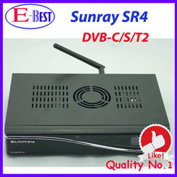 sunray 800hd se sr4 wifi sunray4 800se 3 tuner in 1 HD Linux OS dm800 hd se satellite recevier DHL Free Shipping(China (Mainland))