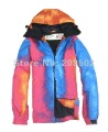 Free shipping 2012 mens GRENADE snowboarding jacket snow suit skiing jacket men's ski suit skiwear anorak red and blue