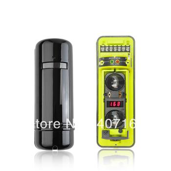 Perimeter Burglar Alarm Two beams OUTDOOR & INDOOR Active Infrared Detector Sensor Photo Eye photo sensor work with alarm system