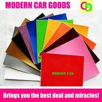wholesale 152cm x 30m glossy color change vinyl film car vinyl car wrap with air drains car covers