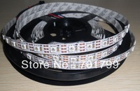 4m WS2811 LED digital strip,60leds/m with 60pcs WS2811 built-in tthe 5050 smd rgb led chip.non-waterproof,DC5V input