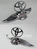 Used For  Eagle Stand Mark Car Chrome Logo Hood Ornaments Badge Emblem