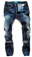 Free Shipping, Retail&Wholesale Latest Style Cotton Men's Jeans Pants