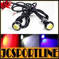 Free Shipping New 3W High Power LED Larger Lens Ultra-thin Auto Car LED Light Eagle Eye Backup Rear Lamp