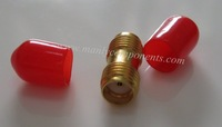 Free Shipping 50pcs Small Copper Material  SMA Jack to Jack Adaptor