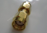 Free Shipping 50pcs High quality Copper Material  Reverse Polarity SMA Jack to Jack Adaptor