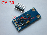 Free shipping  The digital optical intensity illumination sensor BH1750FVI of module   GY-30
