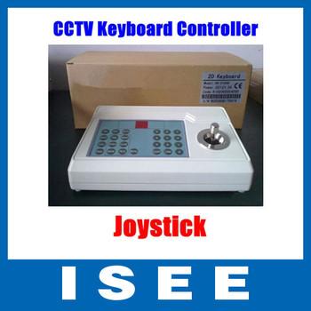 Big sale  PELCO D RS485 PTZ Keyboard Controller Joystick for Surveillance CCTV Camera Free Shipping
