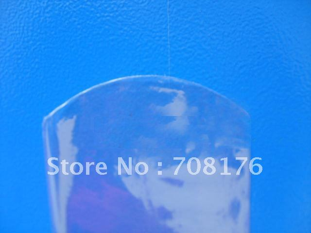 65 mm - 185 mm,PVC heat shrinkable film, Circular arc Shrink Bands, 2 mil Clear Shrink Bands, 1000/lot(China (Mainland))