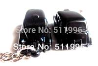 2014 new London  souvenirs key chains London taxi Key ring free shipping
