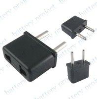 AU or US to EU AC Power Plug Adapter Travel Converter Converter Plug 1000pcs/lot