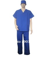 Unisex V neck Medical Scrub Set