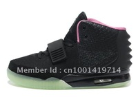EMS 7day Delivery 2012  Air Yeezy 2 Shoes Men Fashion Shoes, Glow In The Dark  Air Yeezy Shoes For Sale